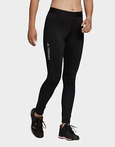 Adidas Women's Terrex Agravic XC Cross Country Nordic Leggings Size:16 Standard,