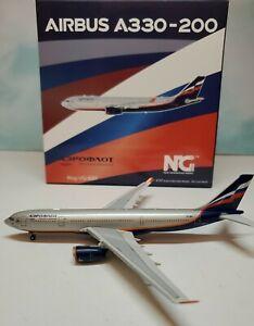 NG Model 1:400 Aeroflot A330-200 VQ-BBF A.Griboedov А. Грибоедов Airbus