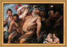 Der Triumph der Silen Anton van Dyck griechische Sage Dionysos Bütten H A3 0369