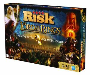 Risk Lord Of The Rings Game 20060