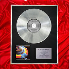 E.L.O. OUT OF THE BLUE  CD PLATINUM DISC VINYL LP