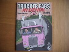 trucker fags in denial jim goad jim blanchard fantagraphics books comic