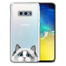 """For Samsung Galaxy S10E G970 5.8"""" Animal Clear Tpu Soft Case Phone Cover Skin"""