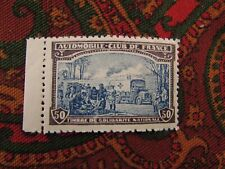 poster stamp cinderella vignette marken automobile club de france 50