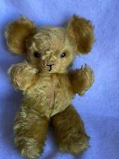 Antique/Vintage 30's/40's Knickerbocker 10� Kuddles Teddy Bear-Mohair-Glass Eyes
