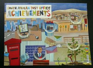 South Africa Postal Office 2013 Postbox (sheetlet) MNH *unusual *see scan
