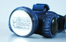 DRAPER EXPERT TWIN SETTING 8 LED HEADLAMP FULLY ADJUSTABLE BATTERY POWERED
