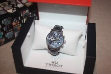 Tissot PRC 200 Chronograph Men's Swiss Watch Boxed Black Red Yellow Accents