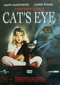 Cat's Eye DVD Stephen King Movie Horror - 1980s OOP RARE REGION 4 AUSTRALIA