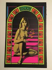 Sunshine Blacklight Poster Pin-up Print Free Summer Double Sided Prints UV