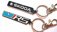 Skoda VRS Schlüsselanhänger gummi emblem for Octavia Fabia Top Qualität