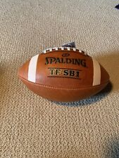New listing Spalding Football TF SB1 Spiral Balance Full Size Leather NFHS Approved Sale