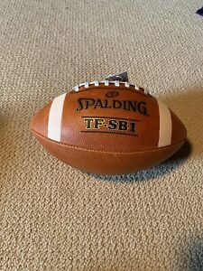 Spalding Football TF SB1 Spiral Balance Full Size Leather NFHS Approved Sale