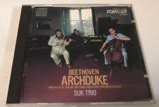 Beethoven: Archduke Suk Trio (CD) Very Good
