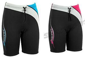 Ladies & Girls Aropec 2mm Neoprene Wetsuit Shorts - 2 Colour Designs