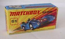 Repro Box Matchbox Superfast Nr.61 Blue Shark