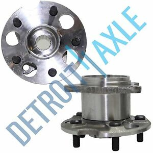 Rear Wheel Bearing & Hub Assembly Pair 4WD/AWD for 04-13 Toyota Highlander Venza