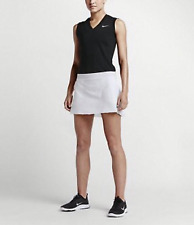 Nike Golf Innovation Links Skirt Short - 725776-100 - Size Medium White