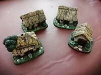 Wargames 15mm Resin Dark Age Ancients Medieval Village
