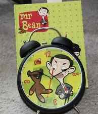 Grand réveil cloches MR BEAN CLOCK & TEDDY idéal cadeau mariage NEUF SUPERBE !