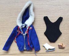 Vintage Retro 1963 Muñecas Barbie Traje De Baño + ropa de esquí reina helenca conjuntos