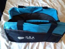 Olympic Duffle Bag, Light Blue And Navy