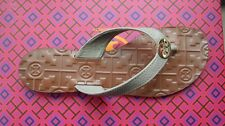 1f9e72d0c52970 BRAND NEW TORY BURCH THORA IN FRENCH GRAY AND GOLD SIZE 8