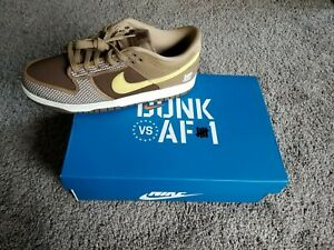 Nike Dunk Low SP x Undefeated Brown Canteen - Size 12