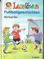 Leselöwen Fußballgeschichten geb. Ausgabe Kinderbuch