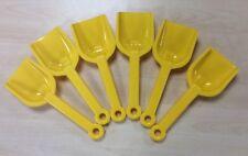 6 X dantoy muy robusta Amarillo Arena Pala Pala Pala 24 Cm Play niños cajón de arena