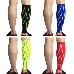 Sports Calf Leg Brace Compression Elastic Leg Sleeve Support Basketball Running