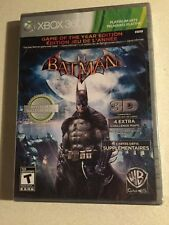 Batman: Arkham Asylum Game of the year edition Xbox 360