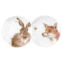 """Wrendale By Royal Worcester - 6.5"""" Coupe Plates - Set of 2"""