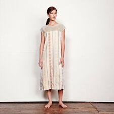 Ace & Jig Tulum Shift Dress S Sunkissed Crew Neck Sleeveless 100% Cotton Midi