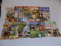 Old House Journal Interiors Magazine 11 Issues LOT 2007 2008 2012 2013 Decorator