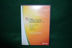 Microsoft Office Home & Student 2007 Service Desk Edition - 3 PCs - Original Key
