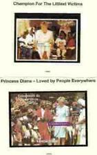 PRINCESS DI  Memorial Sheets - Guinea and Gabon