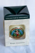 Disney Glass Collectors Ornament.Christmas 2003