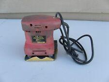 Red Drill Master 40070 Hand Orbital Sander 10,000 Rpm 110V 60Hz Works Great Free