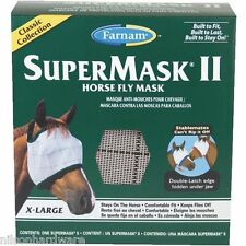 Farnam SuperMask Ii Extra Large Horse Equine Fly Insect Mask 100504651