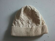 868c92db0ed Baby Boy Girl Baby Gap Cable Knit Winter Hat Ivory Cotton 0-6M