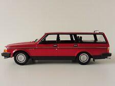 Volvo 240 Gl Break 1986 Rojo 1/18 Minichamps Pma 155171411 245 Estate Familiar