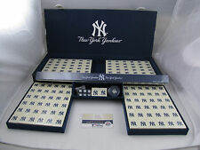 MLB New York Yankees Mahjong Set with Case NEW