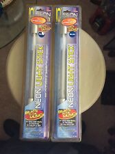 "2 New 10"" Blue Neon Light Stick Beat To The Music"