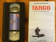 Fargo -Frances McDormand - William H. Macy  VHS Video Pre Owned