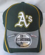 new arrival dc2c4 40f58 OAKLAND A S ATHLETICS NEW ERA 39THIRTY STRETCH FIT CAP HAT - LARGE X-LARGE  NWT