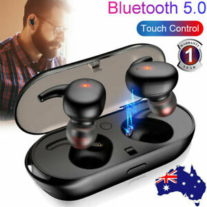 Wireless Bluetooth 5.0 Earphones TWS Headphones Stereo In Ear Earbuds Headset AU