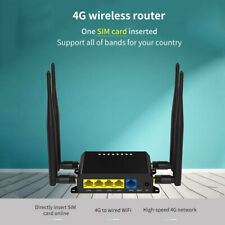 4G LTE OpenWRT WiFi Wireless Smart Router Extender SIM Card 5dbi Antenna X8K8