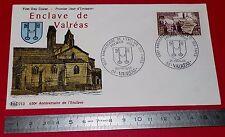 ENVELOPPE 1er JOUR PHILATELIE 1968 650e ANNIVERSAIRE ENCLAVE VALREAS VAR