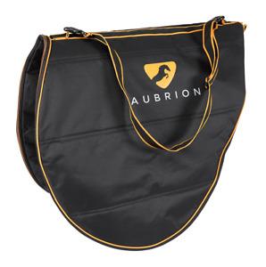Shires Aubrion - Saddle Carrying Bag - Black / Orange - New